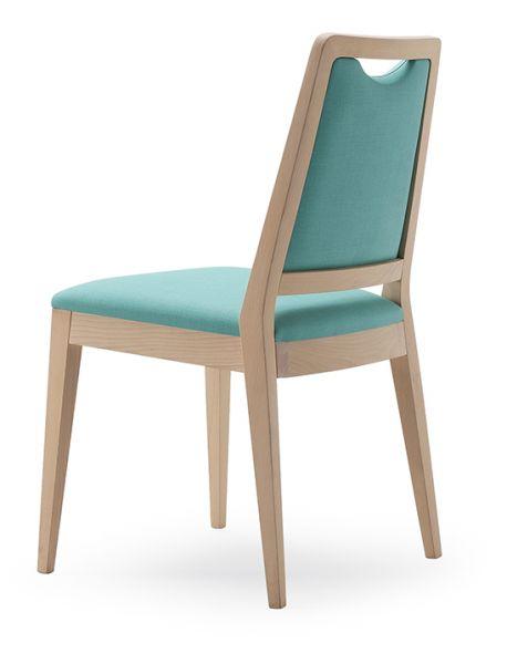 Stuhl für Pflegeheime, ohne Armlehnen Modell MAILAND, Bezug