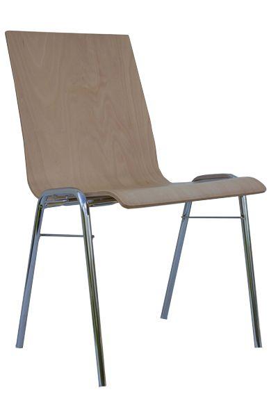 Stuhl mit Sitzschale PAUL, ohne Polster