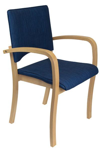 Seniorenstuhl mit Armlehne für Tagespflege TINA 4