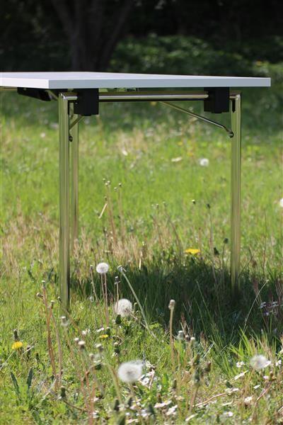 DESIGN Klapptischgestell Set (2 Stück) Modell DEMUS-PROFI
