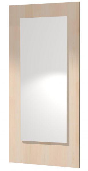 Holzpaneel mit Spiegel 80 x 30 cm
