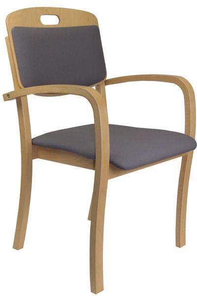 Armlehnenstuhl für Tagespflegeeinrichtungen TINA 3, Bezugsst