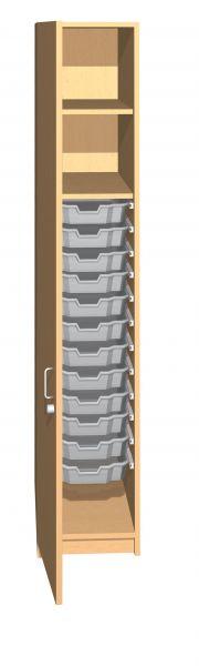 Medikamenten-Anbauschrank mit 12 kleinen Boxen